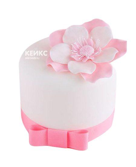 Торт с цветами для девочки 2