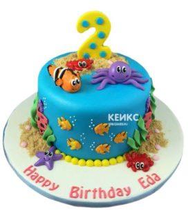Торт в Морском стиле 33
