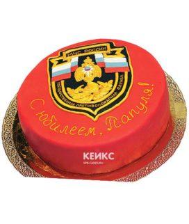 Праздничный торт герб МЧС