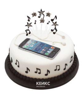 Торт айфон 7-4