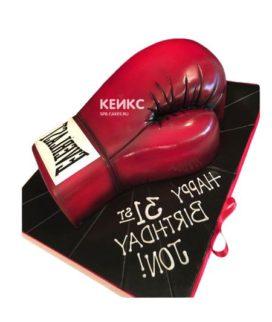 Торт боксерские перчатки-2