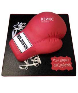 Торт боксерские перчатки-4