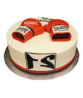 Торт боксерские перчатки-5