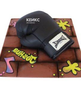 Торт боксерские перчатки-6