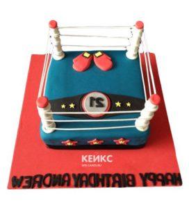 Торт боксерский ринг-2