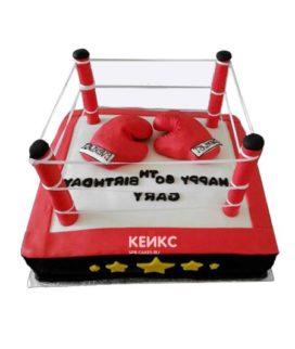 Торт боксерский ринг