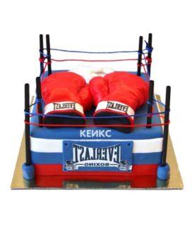Торт боксерский ринг-3