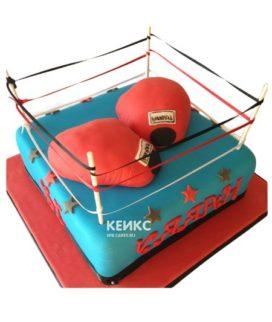 Торт боксерский ринг-5