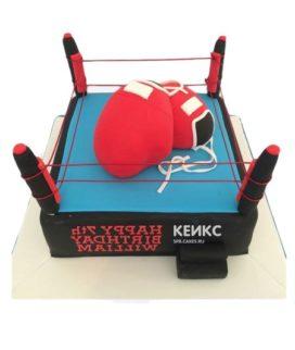 Торт боксерский ринг-6