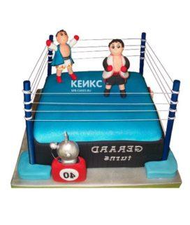 Торт боксерский ринг-7