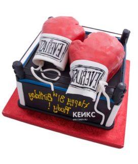 Торт боксерский ринг-8