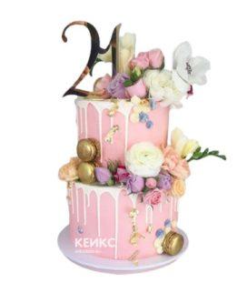 Торт большой
