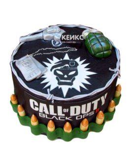 Торт Call of Duty call 1