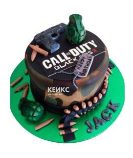 Торт Call of Duty call 11