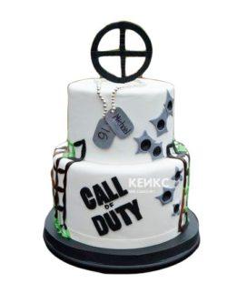 Торт Call of Duty call 13