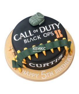 Торт Call of Duty call 14