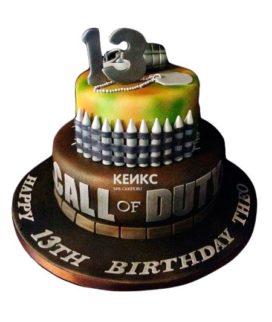Торт Call of Duty call 15