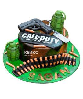 Торт Call of Duty call 17