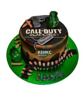 Торт Call of Duty call 2