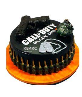 Торт Call of Duty call 4