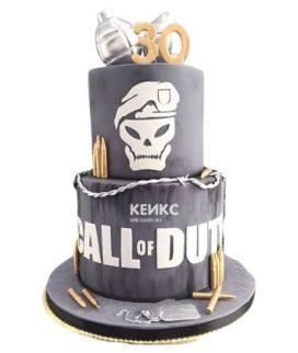 Торт Call of Duty call 8