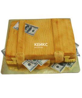 Торт чемодан с деньгами 9