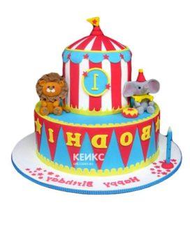 Торт цирк-10
