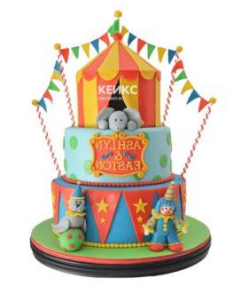 Торт цирк-11