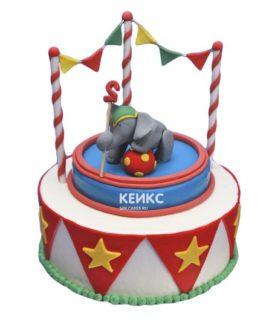 Торт цирк-15