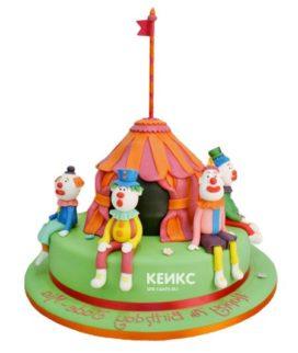 Торт цирк-16