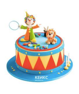 Торт цирк-17