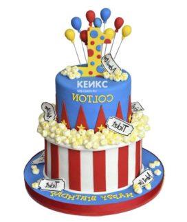 Торт цирк-3