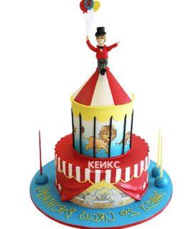Торт цирк-4
