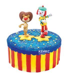Торт цирк-6