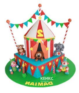 Торт цирк-7
