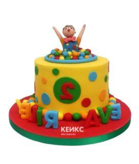 Торт цирк-8