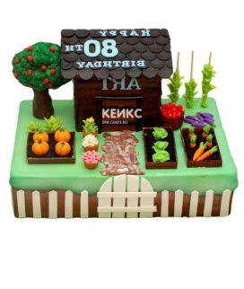 Торт дача-9