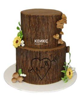 Торт дерево-2