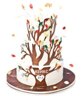 Торт дерево-4
