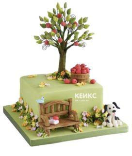 Торт дерево-5