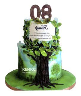 Торт дерево-6