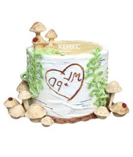 Торт дерево-8