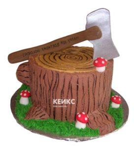 Торт дерево-9