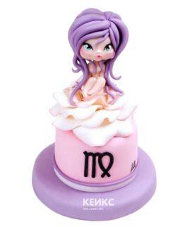 Торт дева