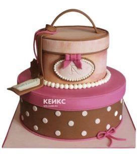 Торт девушке на 17 лет 2