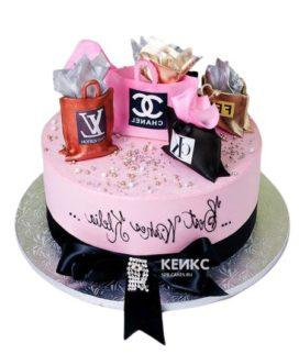 Торт девушке на 20 лет