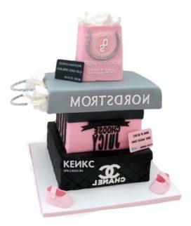 Торт девушке на 20 лет 3