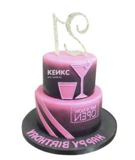 Торт девушке на 21 год