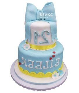 Торт девушке на 21 год 4