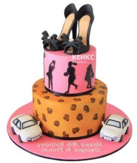 Торт девушке на 21 год 6